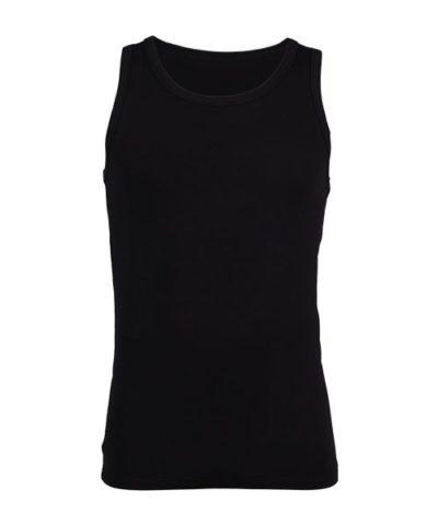 Bamboe hemd zwart -0