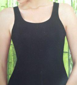 Bamboe dames hemd zwart