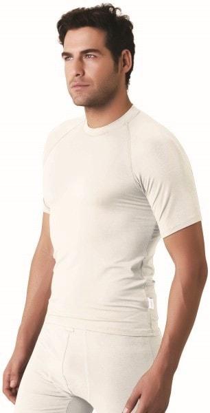 Bamboe heren t-shirt wit